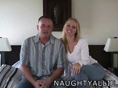 Husband, Caught, Threesome, Pregnant threesomes