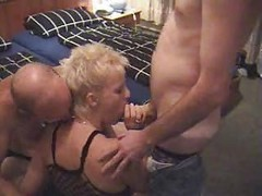 Amateur, Milf, Threesome, Asslicking threesome
