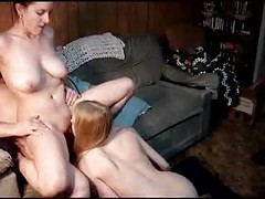 Amateur, Threesome, Asslicking threesome