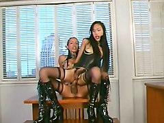 Ladyboy, Latex, This video is presented by ladyboy pussy paysite