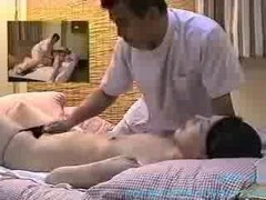 Massage, Ass, Spy, Naughty massage for japanese girl