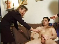 Mature, Mature blowjob