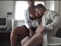 Handjob, Office, Japanese handjob