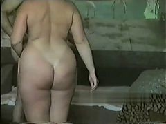 Homemade, Russian, Bbw, Russian anal toy
