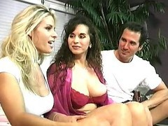 Classic, Ass, Milf, Threesome, Eating threesome