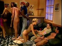 Classic, Orgy, Ass, Cumshot, Shemale orgy