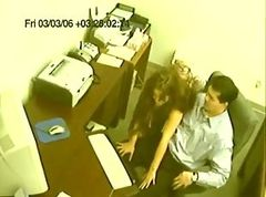 Office, Caught, Office lady getting her small tit andpussydirty