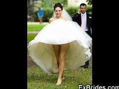Upskirt, Bride, Wedding, Bride cheating wedding