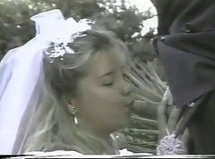 French, Bride, Wedding, Dress, French orgasm