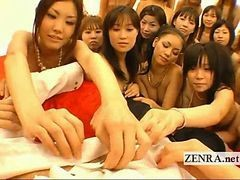 Asian, Handjob, Japanese, Kissing, Funny handjob