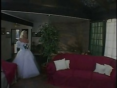 Bride, Wedding, Hememade bride anal surprise