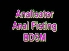 Anal, Bdsm, Fisting, Busty amateur fist