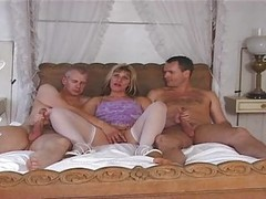 British, Milf, Threesome, Threesome feet