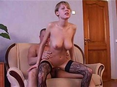 Russian, Russian daugter fucked at home
