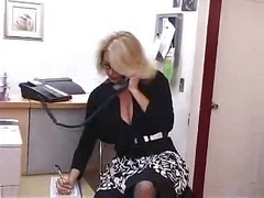 Bus, Office, Secretary, Mature, Abuse office