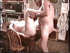 Kitchen, Wife, Wife anal bbc creampie