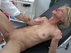 Granny, Doctor, Fat granny anal