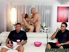 Blonde, Riding, Uncle, Uncle creampie