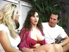 Classic, Ass, Milf, Threesome, Threesome lingerie