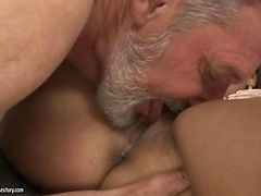 Grandpa, Teen, Teen seduced by milf
