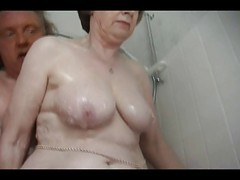 Granny, Bath, Incest bathing