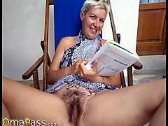 Granny, Wet, Ass, Hairy granny anal