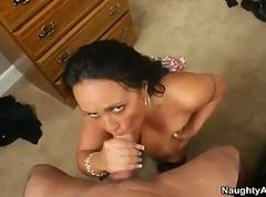 Housewife, Wife, Wet, Daddy caught by daughter and helps hem