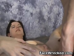 Anal, Rough, Rough blowjob compilation