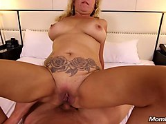 Anal, Bus, Natural, Milf, First anal big natural