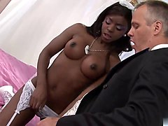 Ebony, Wedding, Russian wedding bride