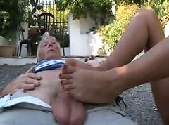 Footjob, Footjob shay fox