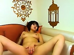 Asian, Chubby, Babe, Strip, Czech young home
