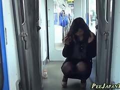 Asian, Train, Mother abused on train