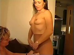 Panties, Pantyhose, Tight, Hot busty british mature in pantyhose