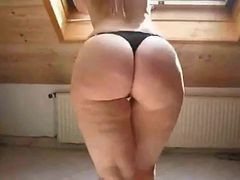 Blonde, Chubby, Heels, Ass, Swinger ass