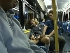 Amateur, Anal, Bus, Teen, Caught bus