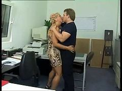 Anal, Office, German, Mature, German fucked by everybody in the office