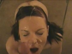 Amateur, Homemade, Facial, Cumshot, 18 facial
