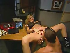 Office, Babe, Big Tits, Office slave