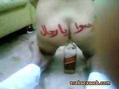 Arab, Babe, Bottle, Sex arab avec army amirican