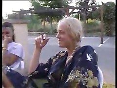 Czech, Smoking, Czech girls fucked for money