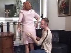 French, Mature, Redhead, French matures