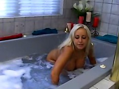 British, Bath, Indian girl bathing