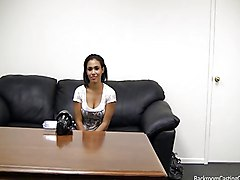 Casting, Black, Strip, Backroom casting couch anal