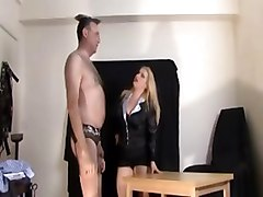 Office, Humiliation, Stockings, Group humiliation tubes