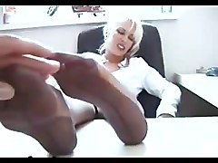 Office, Footjob
