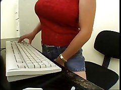 Asian, Lesbian, Caught, Secretary, Husband caught