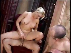 Bisexual, Strapon, Threesome, Office threesome