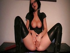 Anal, Latex, Latex strap on