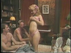 Classic, Orgy, Ass, Vintage, Young girls and coed seduce anal orgy